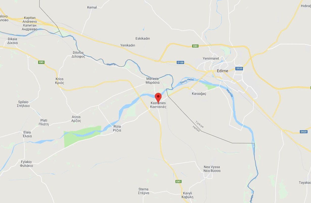 Two Greek Soldiers Arrested by the Turkish Army at Evros - i