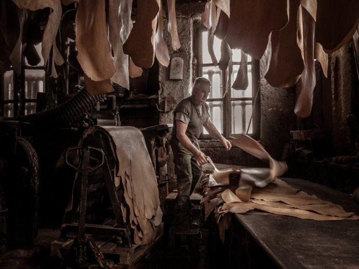 "Lefteria Frantzeskaki ""Leather processing"", GAP Honorable Mention"