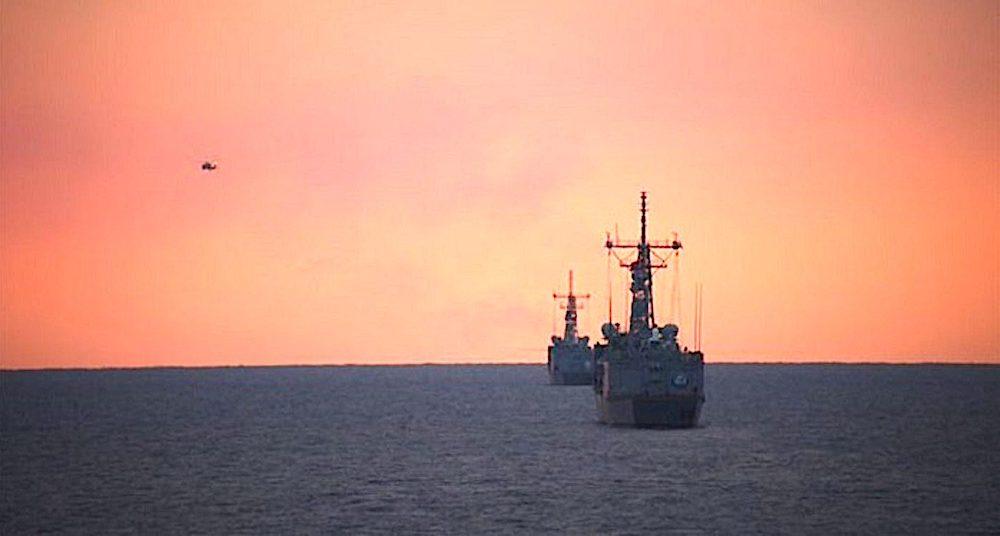Turkish naval exercise